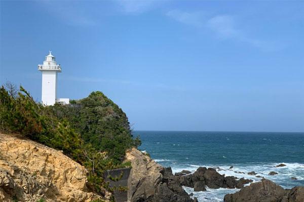 安乗岬の安乗灯台