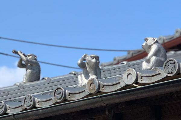 見る猿言う猿聞く猿おかげ横丁